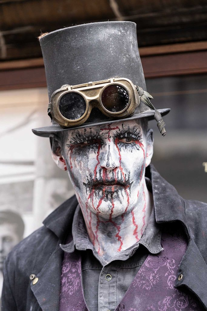 Whitby Goth Weekend April 2019 - Spooky Look