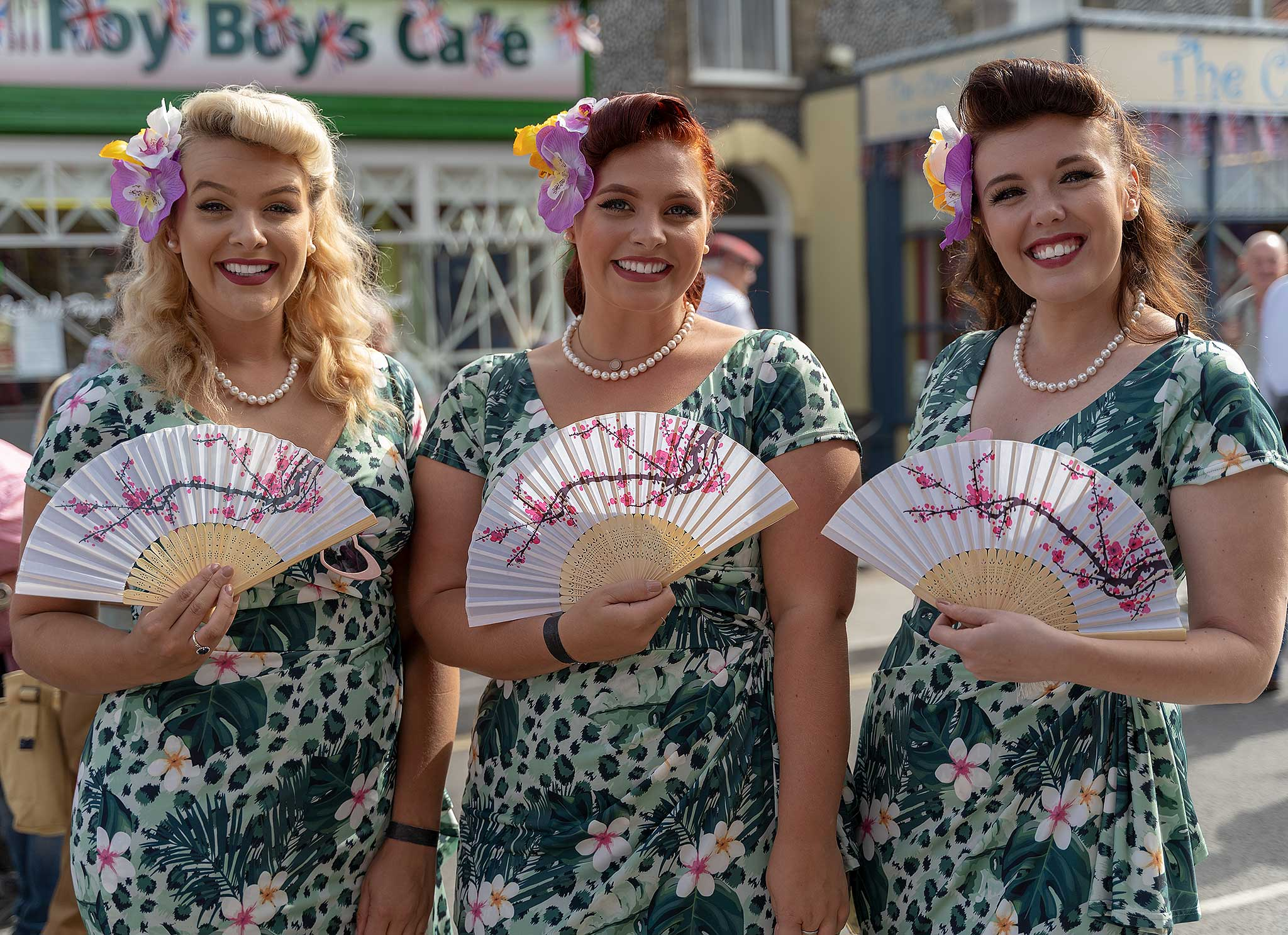 Sheringham 1940's Weekend 2019 - The Knightingales