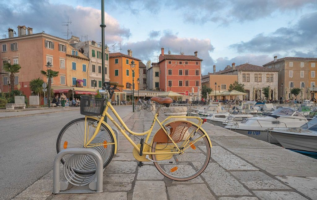 Rovinj Harbour Area