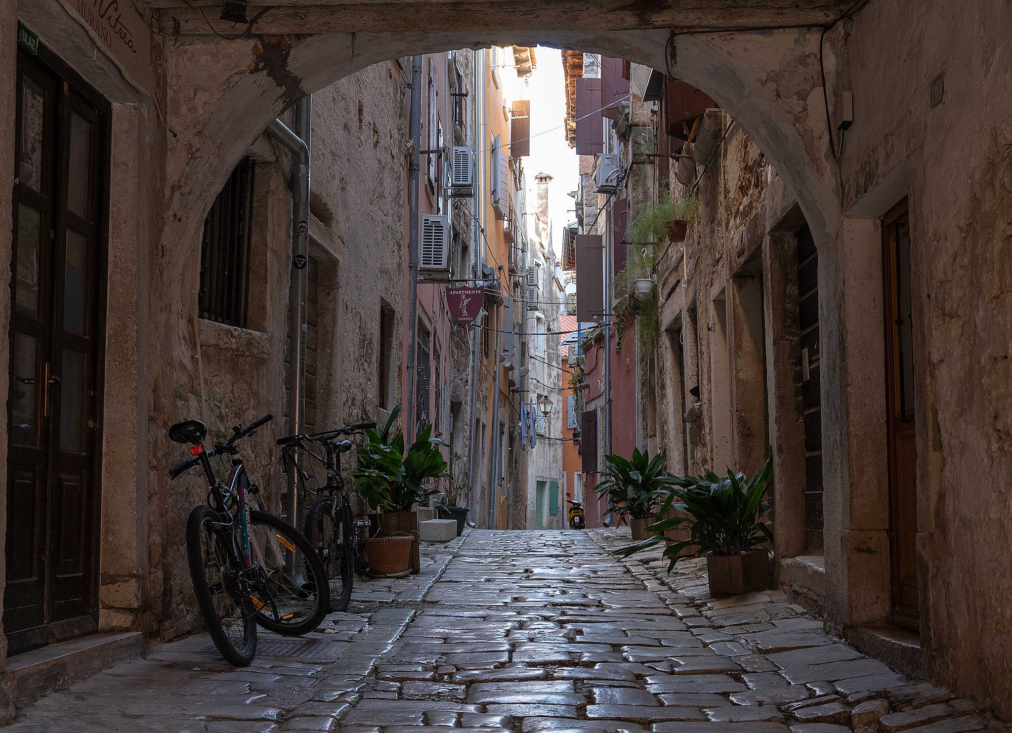 Rovinj Old Town - Narrow streets